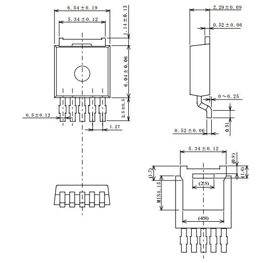 0%) ●可通过外部电容器调节复位延迟时间 ●纹波抑制 (一般为75db(f=