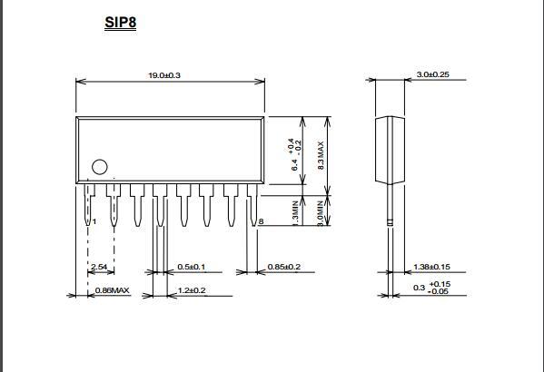 njm2043改良了njm4558的输入和输出,其特性为在低噪音的同时,输出电流