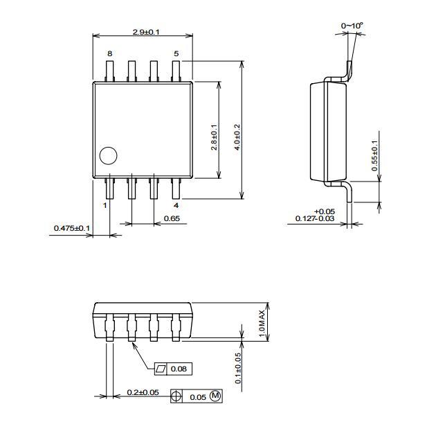 0v) ●单端信号输入,差分信号输出 ●内置6db amp ●内置75Ω驱动器