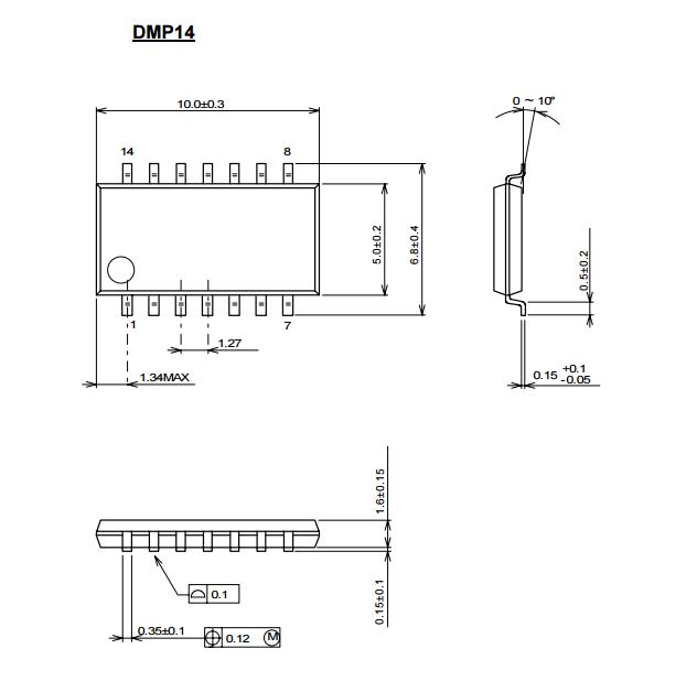 带频率特性 (0db时一般为50mhz) ●内置6db放大器 ●内置75Ω驱动电路