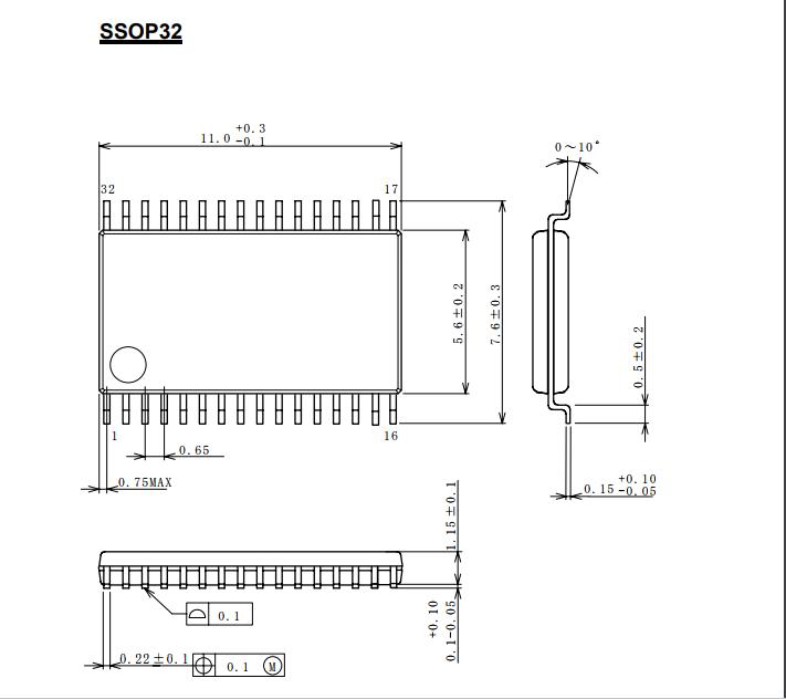 6db放大器 ●内置75Ω驱动电路 (2系统驱动) ●内置lpf ●节电电路