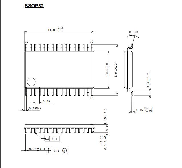 njw1163v 带重低音输出的音频处理器